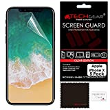 Best unknown iPhone 5 Screen Protectors - [Pack of 5] TECHGEAR® Apple iPhone X CLEAR Review