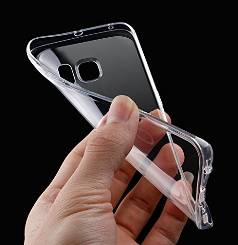 Samsung Galaxy S6 Edge Plus Caso, Samsung Galaxy S6 Edge Plus Cover, Bonice Ultra Sottile PC Hard Back Antiurto Shock-Absorption Durable Case Love + 1x Protezione Dello Schermo Screen Protector model 10
