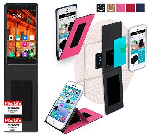 reboon Hülle für Elephone P9000 Lite Tasche Cover Case Bumper | Pink | Testsieger