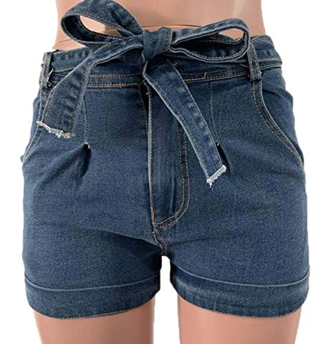 Babao Damen Sexy Denim Shorts Distressed Short Jeans (Distressed Damen Stiefel)