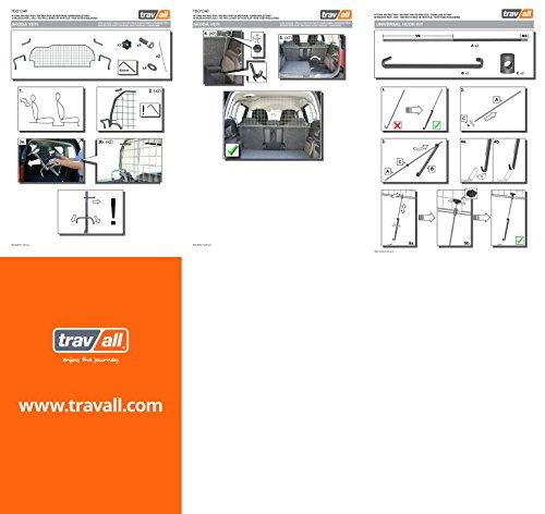 Travall® Guard Hundegitter TDG1248 - Maßgeschneidertes Trenngitter in Original Qualität -