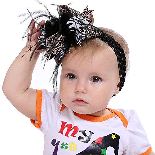 Butterme Feather Bogen Halloween Baby Stirnbänder Mit Clip -