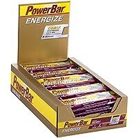PowerBar Energieriegel Energize mit Magnesium und Natrium – Fitness-Riegel, Kohlenhydrate Riegel mit Hafer, Früchten und Maltodextrin bei erhöhtem Energiebedarf – 25 x 55 g Berry