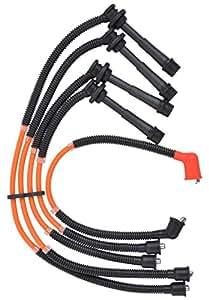 Stupendous Aflo Plug Wire Ignition Cable For Zen Esteem Mpfi Amazon In Car Wiring Cloud Hisonuggs Outletorg