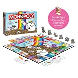 Winning Moves Pummel & Friends - Monopoly (Limited Edition mit Pummelfee Sonderfigur) - Pummeleinhorn