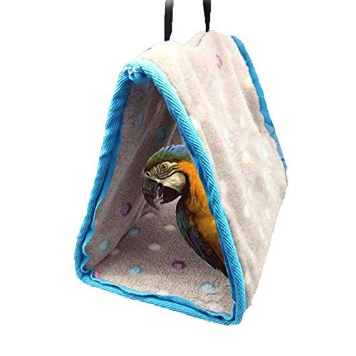 Winter Warm Bird Nest Haus Hütte für Parrot Wellensittiche Sittiche Nymphensittiche Kakadu Sittiche Unzertrennliche Finch Käfig Spielzeug
