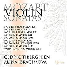 Mozart: Violinsonaten Vol. 4 - Sonaten für Violine und Klavier Vol. 4 - Sonaten KV 37 / 8 / 360 / 303 / 403 / 13 / 28 / 26 / 378