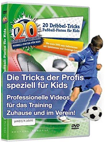 fussball dvd 20 Dribbel-Tricks - Fußball-Finten für Kids