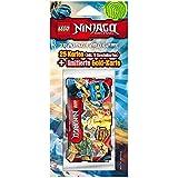 Lego 204995 - Ninjago  Sammelkarten, 5 Booster mit limitierter Karte, gelb