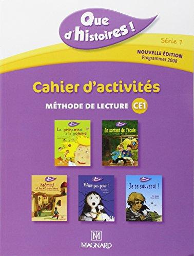 Cahier d'activités : Méthode de lecture CE1, programmes 2008 par Collectif