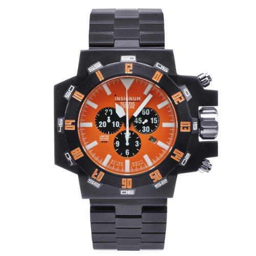 Insignum Herren-Armbanduhr XL Epoche Chronograph Edelstahl IP212351