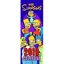 Simpsons Slim Official 2019 Calendar - Slim Wall Calendar Fo