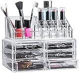 Solly´s Kira - Aufbewahrungsbox für Make Up und Schmuck, Kosmetik Organizer aus Acryl, Schmuckkästchen, Schubladenbox Schminke