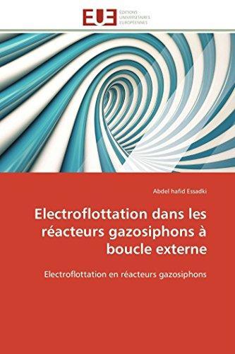 Electroflottation dans les réacteurs gazosiphons à boucle externe par Abdel hafid Essadki
