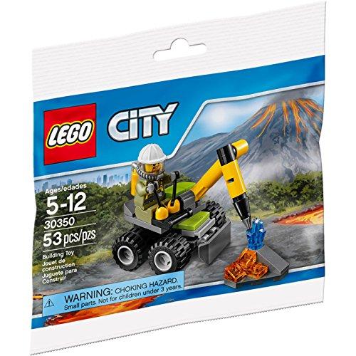 Preisvergleich Produktbild Lego City 30350 Vulcano Jackhammer Bohrhammer Fahrzeug
