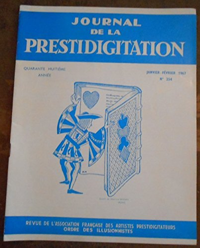 Le Journal de la Prestidigitation 1967