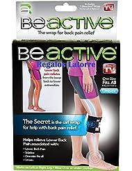 BeActive - Rodillera que alivia las molestias de la espalda y ciática, a través de una almohadilla especial de presión.