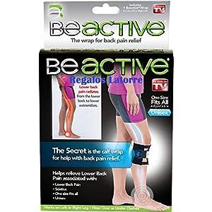 Be-Active Beactive Druckpunkt-Stütze zur Linderung von Rückenschmerzen, zur Akupressur des Ischiasnervs, für Ellenbogen…