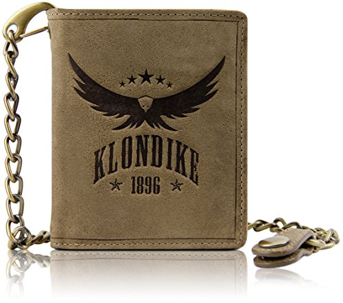 Klondike 1896 Cartera Piel auténtica Wayne Eagle