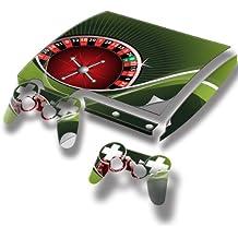Virano - Pegatina para PlayStation 3 Slim, diseño de coches de colección varios modelos disponibles Casino 10003 PS3 Slim Full Body Skin