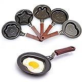 #10: Toku Cartoon Mini Egg Frying Pan Omelette Designer Breakfast Pan Pancake maker