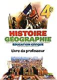 Histoire Géographie 4e • Livre du professeur