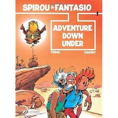 Spirou & Fantasio - tome 1 Adventure Down Under (01)