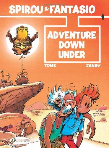 Spirou & Fantasio - tome 1 Adventure...