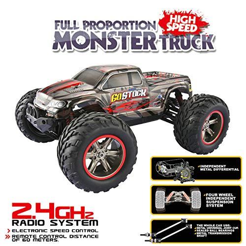 RC Monstertruck kaufen Monstertruck Bild 1: GoStock Ferngesteuertes Auto, 1:12 Maßstab RC Autos 42 km/h High-Speed 2.4GHz RC Geländewagen Monstertruck Ferngesteuert Buggy Geschenk für Kinder und Erwachsene*