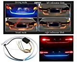 #10: Waterproof Tail Led Strip Light Car Brake Turn Signal Tail + Left /Right Indicator Lights LED For Toyota Innova Crysta
