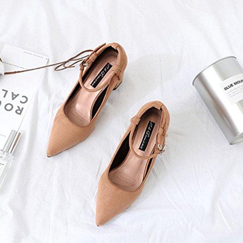 Unknown Welldone2017, Chaussures Kaki Pour Femme