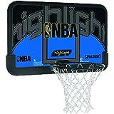 Spalding NBA HIGHLIGHT BACKBOARD (80-453CN) - schwarz/blau