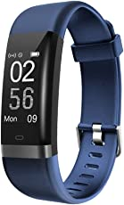 AUSUN Fitness Tracker, 131HR Fitness Armband mit GPS, Schrittzähler Uhr mit 14 Sportmodi, Aktivitätstracker mit Schlafmonitor kalorienzähler Anruf Beachten für Android und iOS
