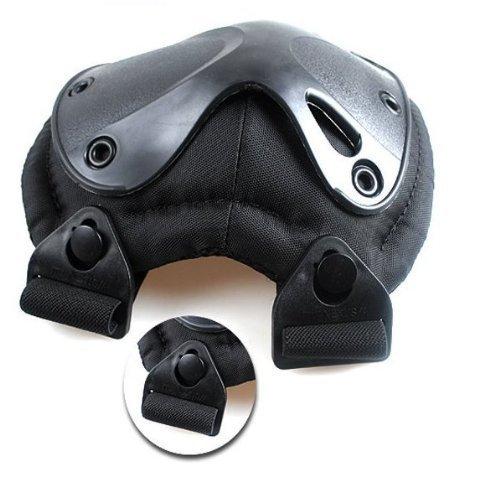 NOGA Noir Sports d'extérieur tactique de protection les genoux et les Coudières
