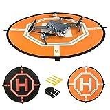 Landing Pad für RC Drones Hubschrauber DJI Mavic Pro/ Mavic Air, auch passend für Phantom 2/3/4/4 Pro, Inspire 2/1, 3DR Solo, Quadcopters, GoPro Karma, Parrot & More. 31 Zoll, mit reflektierenden Bereichen