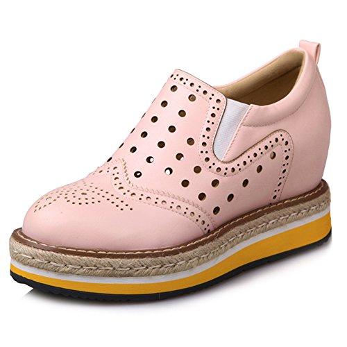 new styles da926 420fc Damen Sneakers Mittelhohem Keilabsatz Sportschuhe Flach ...