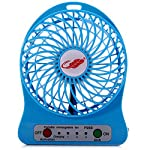The structure of these fans is unique and fashionable.5 colors. 3-mode of wind speed and 1 mode of led light. German brushless DC motor,100% bare cooper to ensure the high winds and long-life. Intelligent control system, reliable performance, which i...
