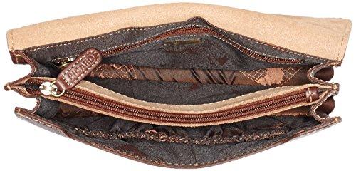 Picard Herren Toscana Handgelenktasche, 24x17x6 cm Braun (Kastanie)