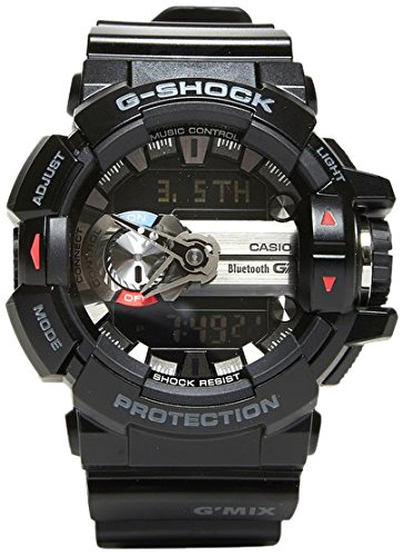 Casio HerrenMulti Zifferblatt Quarz mit Resin Armbanduhr GBA 400 1AER