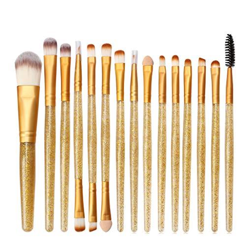Dtuta 15 EigenstäNdige Blinkende WerkzeugbüRsten, Perfekt Mit Make-Up, Weichem Pinsel Und Einfach...