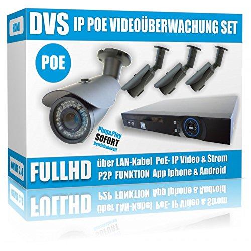 DVS-IP-berwachungsanlage-Komplett-Set-mit-4x-24MP-FULLHD-berwachungskameras-4000-GB