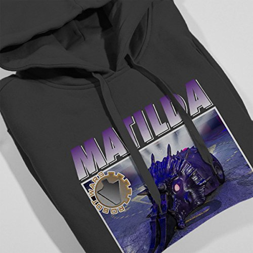 Robot Wars Matilda Women's Hooded Sweatshirt Charcoal