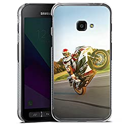 DeinDesign Samsung Galaxy XCover 4 Hülle Case Handyhülle Meddes Motorrad Motorsport