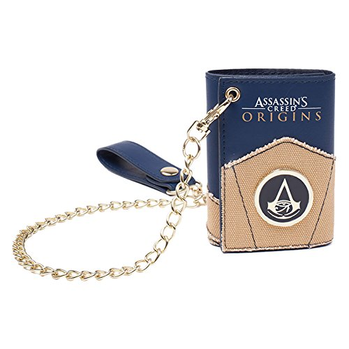 Assassin's Creed Origins Wallet Chain Black (Black Chain Wallet)