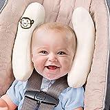 Runfon Kinderwagenkissen, Kopf- und Halssätze für Kindersitz, verstellbares Nackenstützkissen, Auto-Reisekopfkissen für Babysitz. Kinder Kleinkind Kinderwagen Kinderwagen Kopf unterstützt 100% Neu