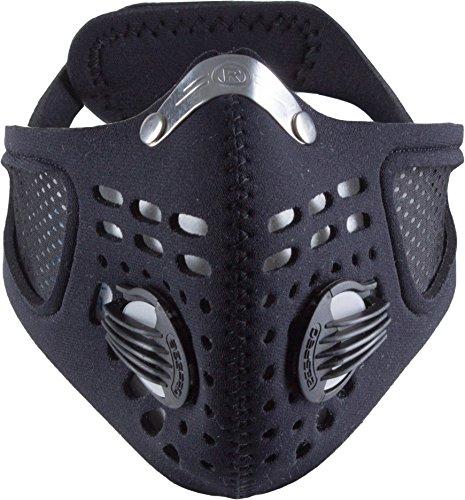 Respro Sportsta - Maschera antismog, Nero (Nero), L