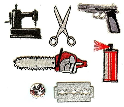 Preisvergleich Produktbild Bügelbilder Aufnäher Patches Gangsta-Rap