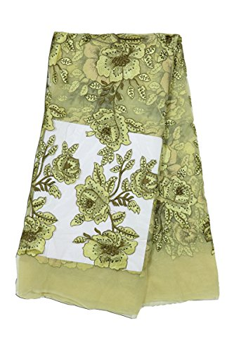Fabricvilla Women\'s Net Saree Blouse (Fv001D01_Multi-Coloured_44 Width)