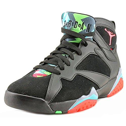Nike Herren Air Jordan 7 Retro 30th Turnschuhe Schwarz / Rot / Blau (Schwarz / Infrarot - 23-Bl Grpht-RTR)
