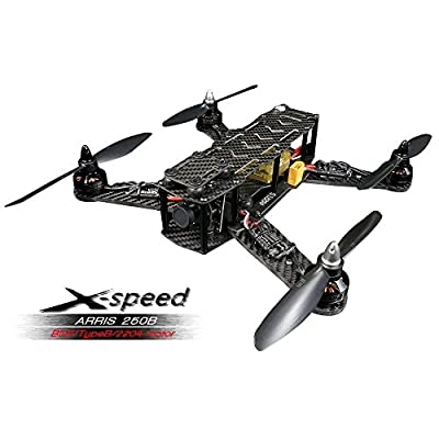 ARRIS X-Speed 250 Racing Drone RC Racer Quadcopter Assembled BNF (Type B/2204)